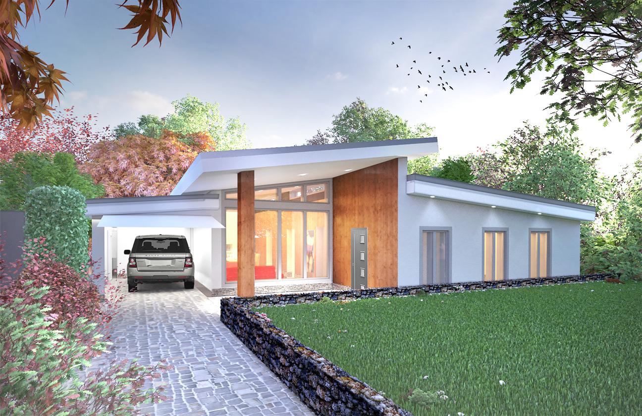 Bungalow modernization penwortham graham lea architecture for Bungalow architects