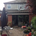 Single storey extension preston